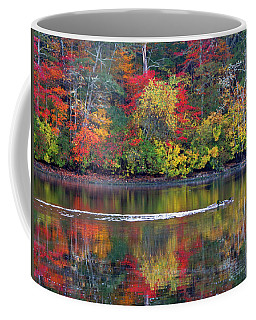 Coffee Mug featuring the photograph October's Colors by Dianne Cowen
