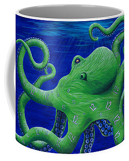 Octohawk Coffee Mug by Rebecca Parker