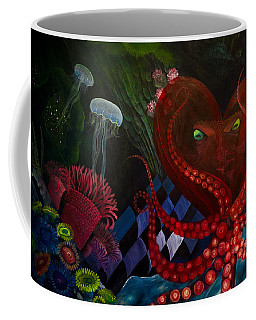 Octopus Heart Coffee Mug