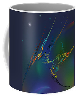 Coffee Mug featuring the digital art Ode To Joy by David Lane