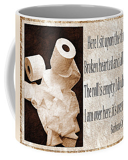 Ode To The Spare Roll Sepia 2 Coffee Mug