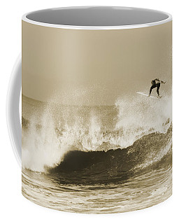 Coffee Mug featuring the photograph Off The Top by David Millenheft