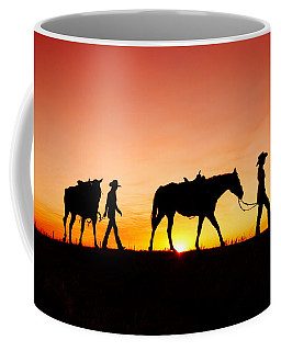 Off To The Barn Coffee Mug