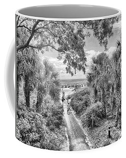 Coffee Mug featuring the photograph Off To The Beach by Howard Salmon
