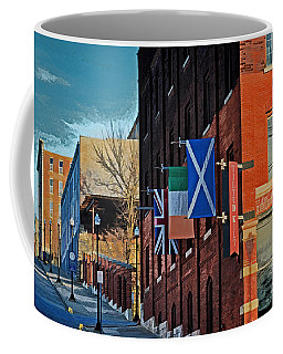 Coffee Mug featuring the photograph Off To The Tilted Kilt by Luther Fine Art