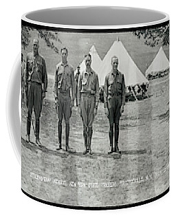 Officers At Camp Newayo, New York State Coffee Mug