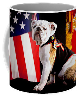 Official Mascot Of The Marine Corps Coffee Mug