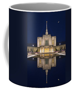 Coffee Mug featuring the photograph Ogden Temple Reflection by Dustin  LeFevre