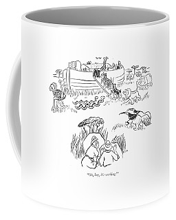 Oh, Boy, It's Working! Coffee Mug