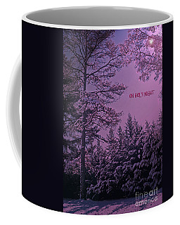 Oh Holy Night Coffee Mug by Lydia Holly