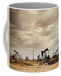Oil Field In Desert Coffee Mug