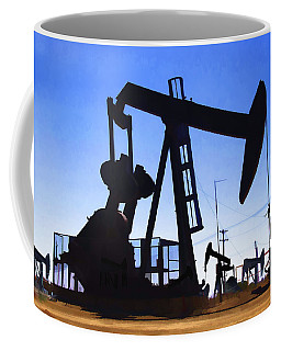 Oil Fields Coffee Mug
