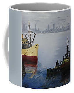 Oil Msc 025  Coffee Mug