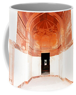 Oil Painting - Doorway In Humayun Tomb Coffee Mug