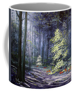 Oil Painting - Forest Light Coffee Mug