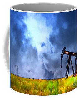 Oil Pump Field Coffee Mug