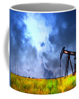 Oil Pump Field Coffee Mug
