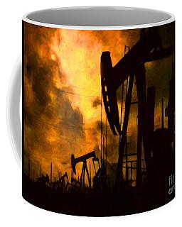 Oil Pumps Coffee Mug