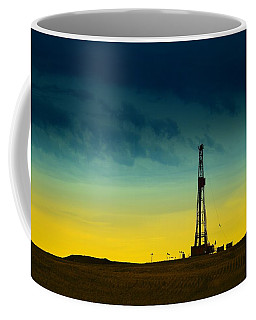 Oil Rig In The Spring Coffee Mug