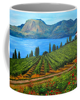Okanagan Vineyard Coffee Mug