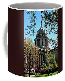 Oklahoma City Capitol In The Spring Coffee Mug