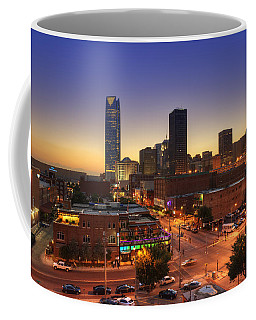 Oklahoma City Nights Coffee Mug