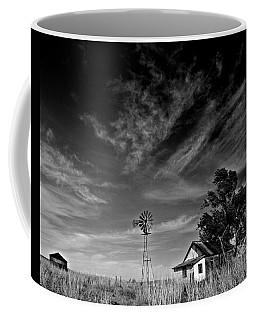 Coffee Mug featuring the photograph Oklahoma Farm by Christopher McKenzie