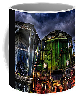Coffee Mug featuring the photograph Old 6139 Locomotive by Thom Zehrfeld
