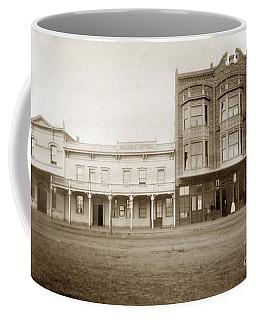 Old And New Salinas Hotel Was On West Market Street Circa 1885 Coffee Mug