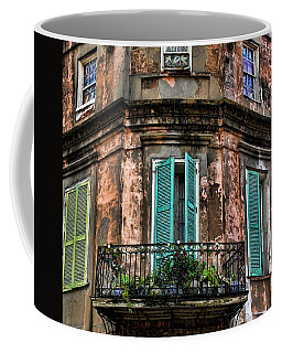 Old And Weathered Coffee Mug by Judy Vincent
