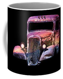 Coffee Mug featuring the photograph Old Antique Classic Car by Gunter Nezhoda