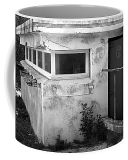 Coffee Mug featuring the photograph Old Army Lookout by Miroslava Jurcik