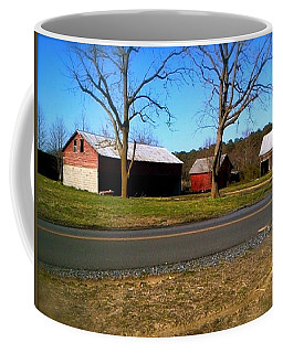 Old Barn Coffee Mug by Amazing Photographs AKA Christian Wilson