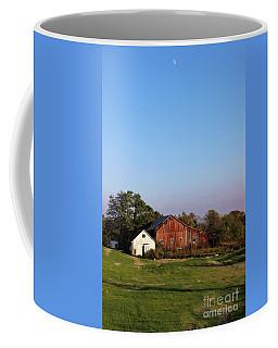 Old Barn At Sunset Coffee Mug
