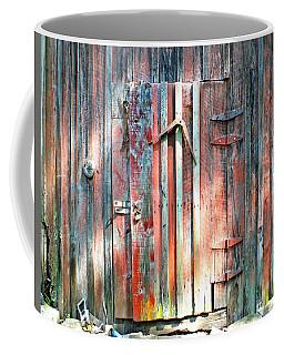 Old Barn Door 2 Coffee Mug