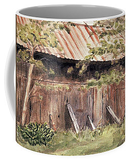 Old Barn Door Coffee Mug
