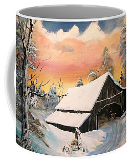Old Barn Guardian Coffee Mug