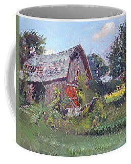 Old Barns  Coffee Mug