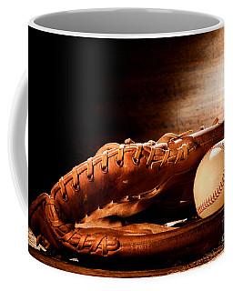 Old Baseball Glove Coffee Mug
