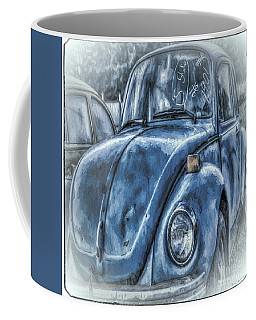 Old Blue Bug Coffee Mug