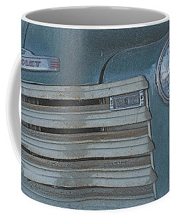 Coffee Mug featuring the photograph Old Blue by Lynn Sprowl