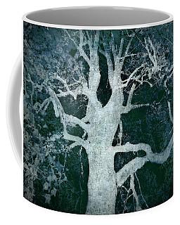 Old Blue Tree Coffee Mug