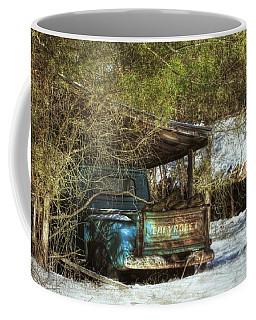 Old Blue Tucked Away Coffee Mug