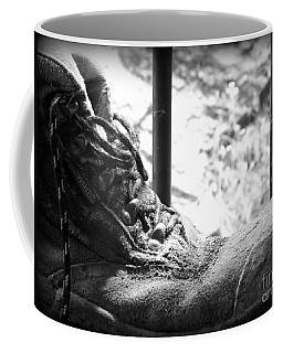 Old Boots Coffee Mug by Clare Bevan