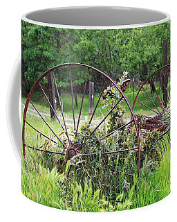 Coffee Mug featuring the painting Old But Not Forgotton by Jennifer Muller