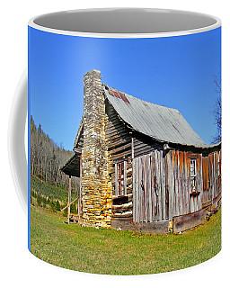 Old Cabin Along Macedonia Church Road Coffee Mug