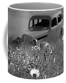 Coffee Mug featuring the photograph Old Car by Leticia Latocki