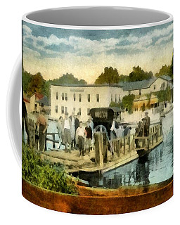 Old Chain Ferry Saugatuck Michigan Coffee Mug