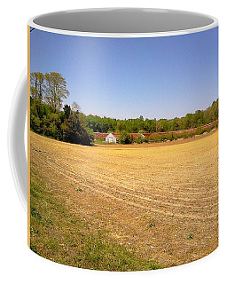 Old Chicken House On A Farm Field Coffee Mug