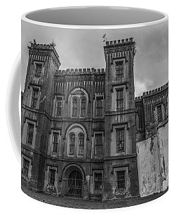 Old City Jail In Black And White Coffee Mug